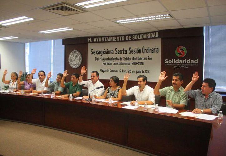 Regidores que no fueron convocados a las sesiones extraordinarias de Cabildo de Solidaridad preparan una impugnación. (Daniel Pacheco/SIPSE)