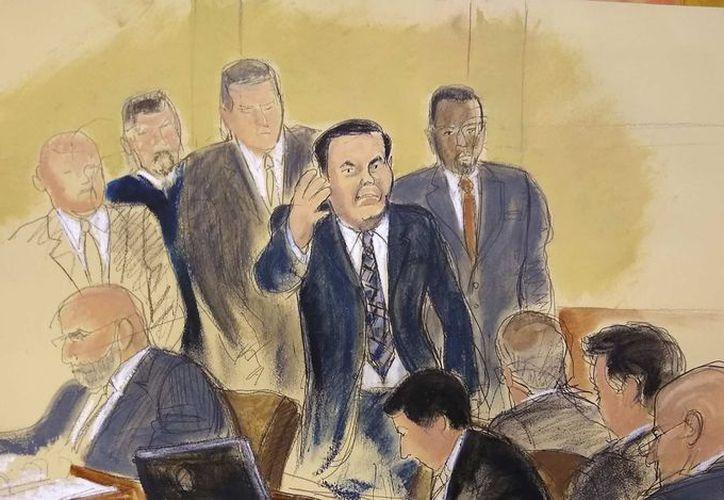 En el juicio en contra de Guzmán Loera, se ha 'salpicado' con acusaciones de corrupción no solo a Felipe Calderón y Enrique Peña Nieto, también al gobierno de Vicente Fox, la PGR, la Policía Federal, las autoridades del Aeropuerto Internacional de la Ciudad de México (AICM) y hasta a la Interpol. (La Nación)