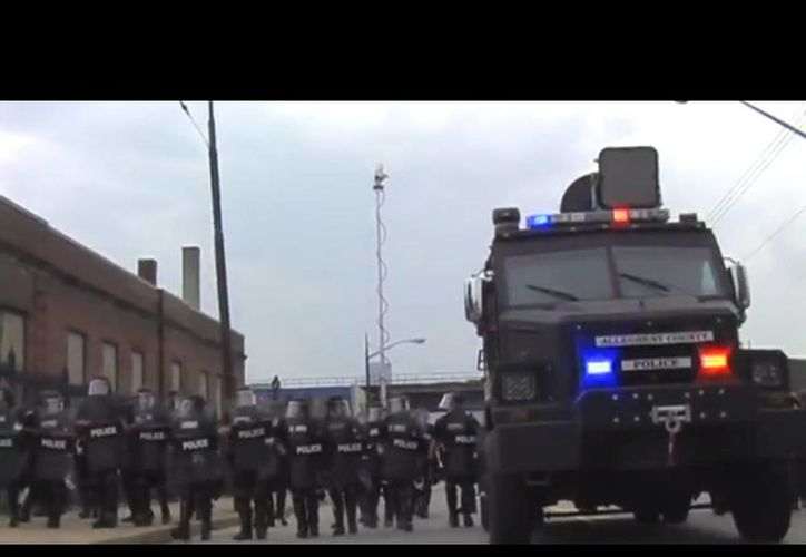 El cañon acústico ha sido usado con éxito desde el 2009 para dispersar a manifestantes. (YouTube)