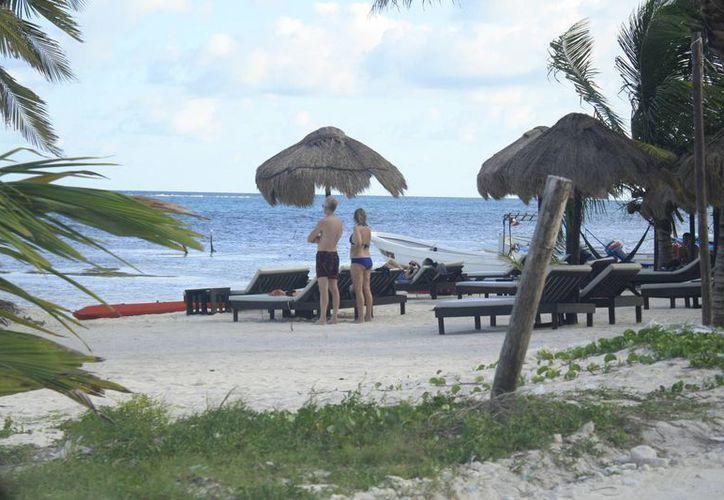 Disponen de predios para los turistas mochileros en el destino turístico. (Harold Alcocer/SIPSE)