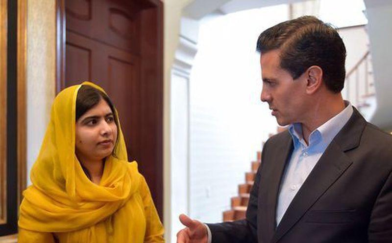 Malala visita la Ciudad de México