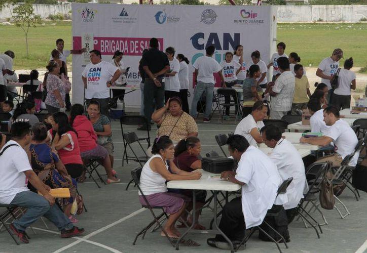 Las actividades se desarrollaron en las instalaciones del domo deportivo. (Tomás Álvarez/SIPSE)