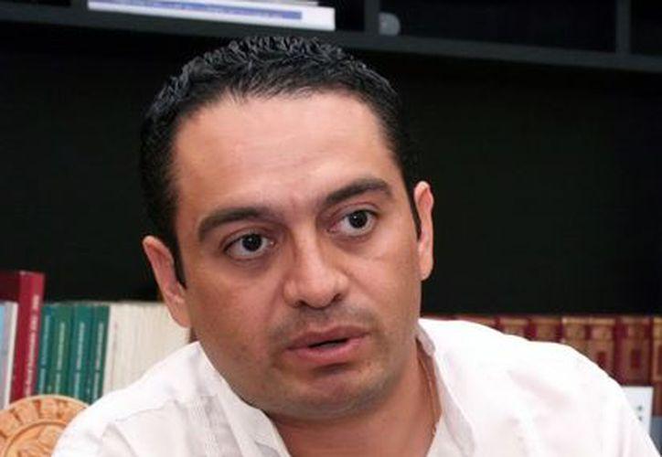 El encargado, en Yucatán de Osfae Omar Pérez Avilés. (Milenio Novedades)