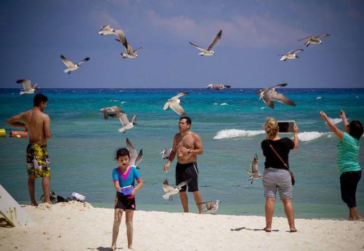 El condicionar los paquetes vacacionales por Semana Santa podría ocasionar multas de la Profeco a las Agencias de viajes. Imagen de una de las playas mexicanas más visitadas en esta temporada. (Archivo/Notimex)