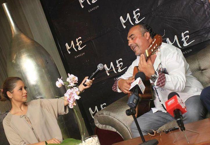 El cantante Chico Castillo se presentará en un hotel de Cancún. (Faride Cetina/SIPSE)