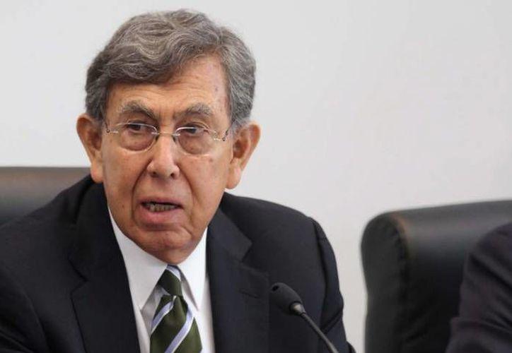 Cárdenas respaldó la actuación de los diputados del PRD. (Archivo/SIPSE)