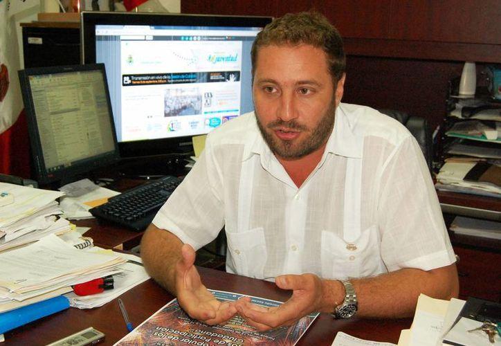 El subdirector de Promoción Social, José Luis Martínez Semerena, explicó que la nueva sede estará en la calle 65 entre 40 y 42. (Wilbert Argüelles/SIPSE)