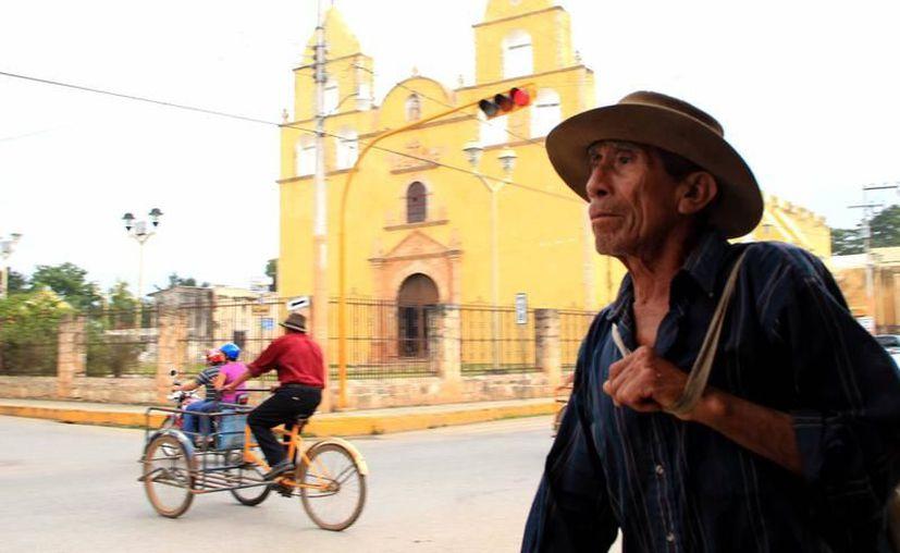La mayoría de los migrantes deportados son originarios de Oxkutzcab, Peto, Muna, Tizimín, Valladolid, Cenotillo, Motul y Mérida. La imagen corresponde a Oxkutzcab. (Milenio Novedades)