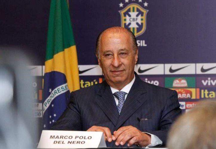 Marco Polo del Nero, presidente de la Confederación Brasileña de Futbol, es investigado por contratos como el representante del fabricante de automóviles Chevrolet, quien es patrocinador de la selección nacional. (conmebol.com)