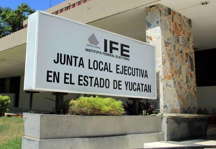 El IFE en Yucatán trabaja con miras al próximo proceso comicial. (Milenio Novedades)