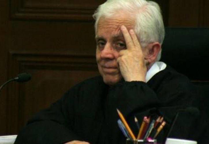 El expresidente de la Suprema Corte de Justicia de la Nación (SCJN), Genaro Góngora Pimentel, promovió como magistrada a Rosalba Becerril Velásquez. (oaxaca-digital.info)