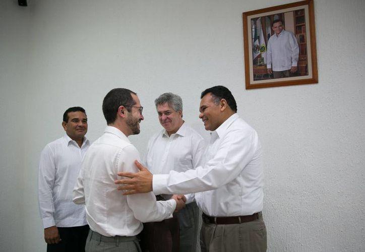 El gobernador Rolando Zapata estará este miércoles en Espita. (Foto del Gobierno de Yucatán)