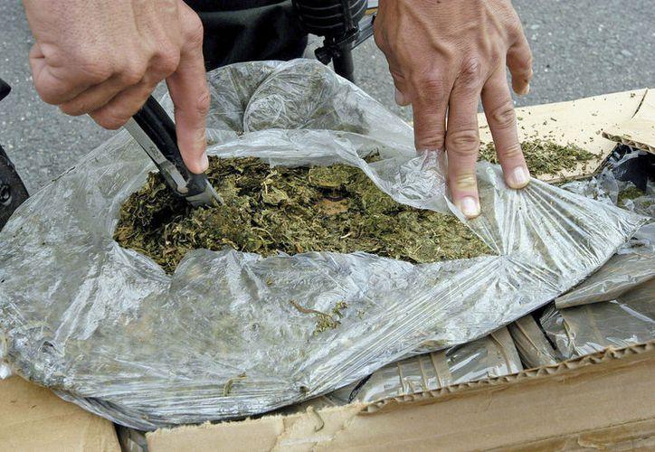 Algunas de las drogas consumidas por adictos son la marihuana, crack, LSD y anfetaminas. (Fotos: Jesús Tijerina/SIPSE)
