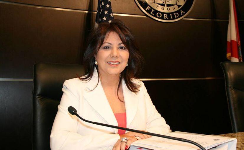 Sandra Ruiz se postula para alcaldesa de Doral, en Florida, una ciudad habitada en su mayoría por inmigrantes latinos. (doralnewsonline.com)