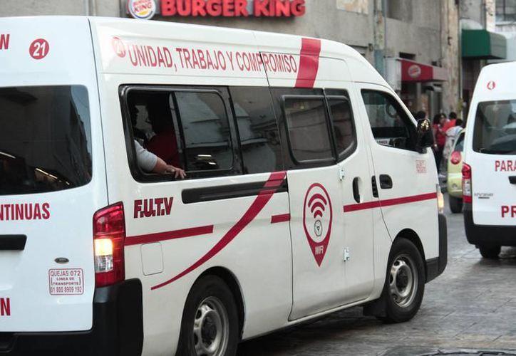 Los taxis colectivos ofrecerán un mejor internet desde este viernes, así lo aseguraron socios del FUTV. (Milenio Novedades)