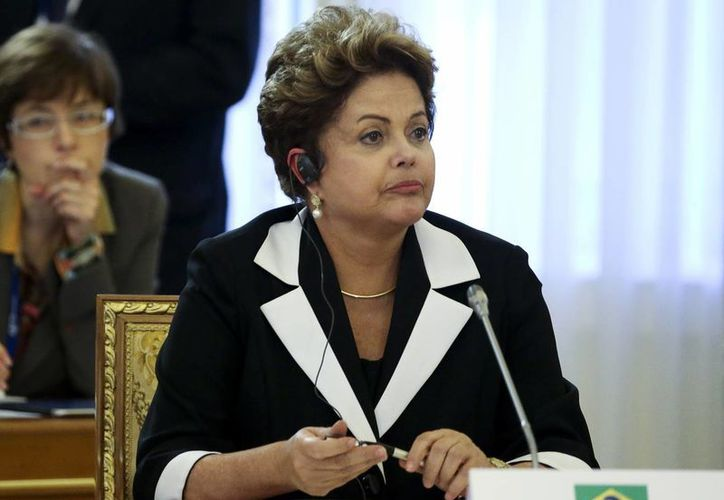 El gobierno norteamericano interceptó comunicaciones de la presidenta Rousseff. (Agencias)