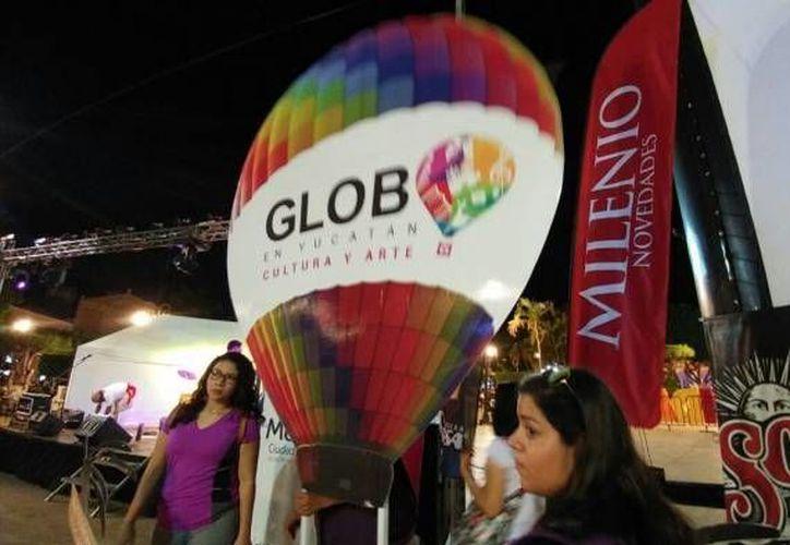 El Festival del Globo continuará este sábado con vuelos por la madrugada y culminará el domingo. (Foto de archivo de José Acosta/SIPSE)