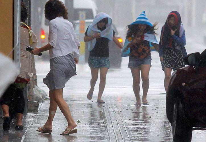 Las intensas lluvias azotaron parte de Japón desde poco antes de la entrada del tifón Neoguri que obligó la evacuación de 500,000 personas y ya cobró una víctima. (excelsior.com.mx)