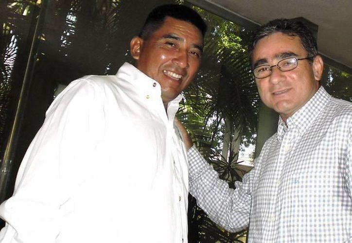Amado Hernández Coello y  Antonio Baas Cetz son los organizadores del evento. (Milenio Novedades)