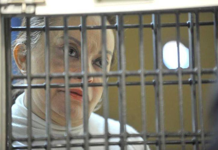 Elba Esther Gordillo está acusada de delincuencia organizada y operaciones con recursos de procedencia ilícita. (Archivo/Notimex)