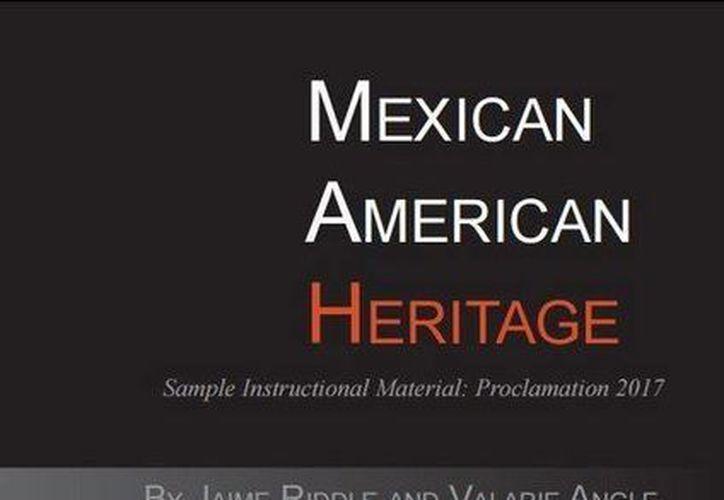 Este es el libro que está causando polémica en Texas porque al parecer estereotipa a los mexicanos.