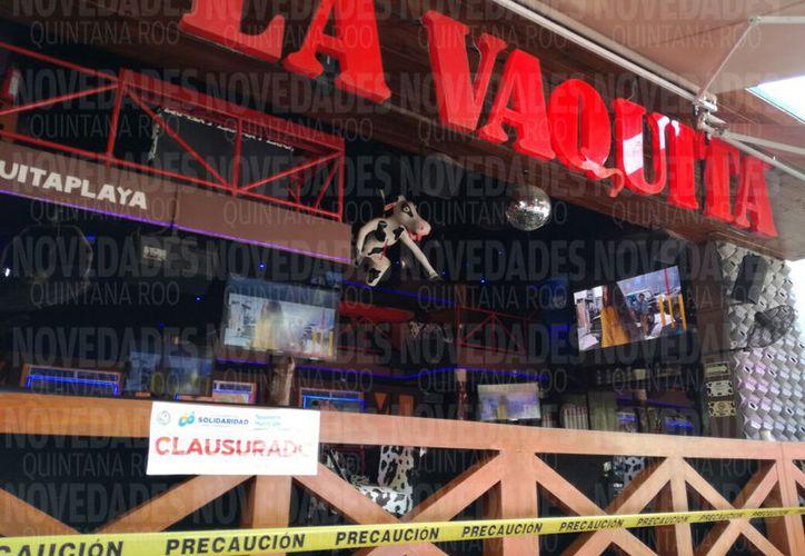 El negocio se ubica en la calle 12, en la zona turística de Playa del Carmen. (Redacción)