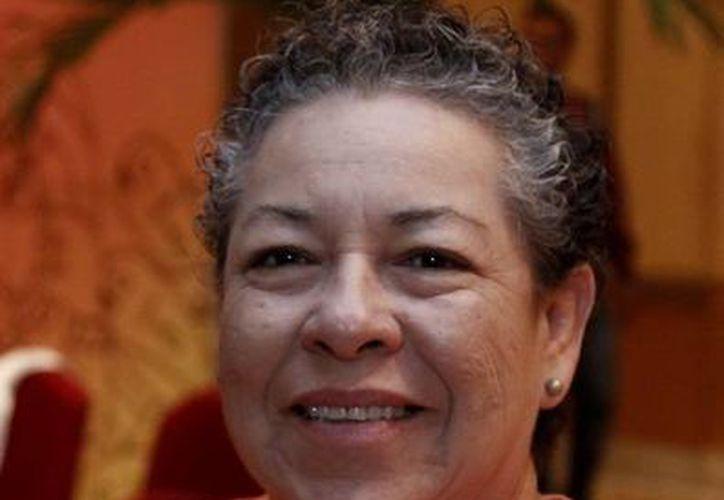 Juana Guadalupe Santín Velázquez , directora de la Casa de la Cultura de Cancún. (Redacción/SIPSE)