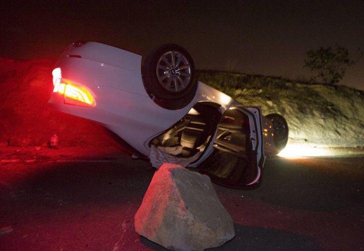 Se han registrado aproximadamente 150 réplicas, incluida una de magnitud 4.1, desde el sismo registrado la noche del viernes en el sur de California. (Agencias)