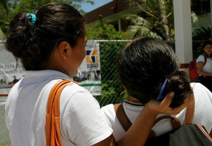 """A partir del próximo ciclo escolar los estudiantes de las primarias solidarenses participarán en un programa """"antibullying"""".  (Adrián Monroy/SIPSE)"""