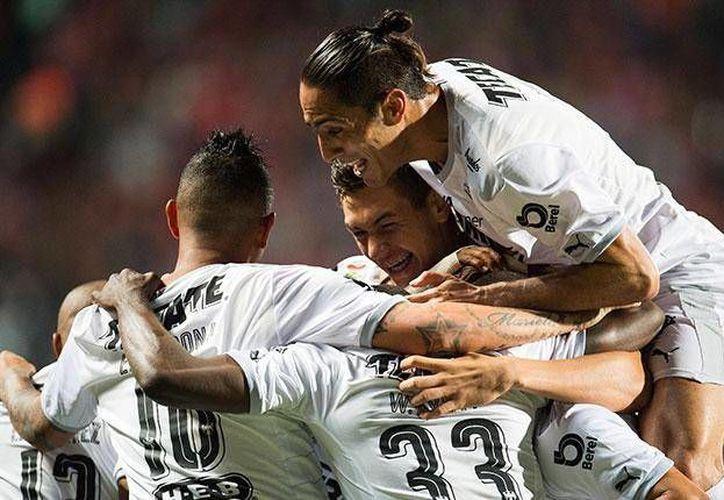 Rayados de Monterrey consiguió  su onceavo triunfo en el Clausura 2016, tras vencer 2-1 a los Xolos de Tijuana en el Estadio Caliente.(Foto tomada de Facebook/Club de Futbol Monterrey)