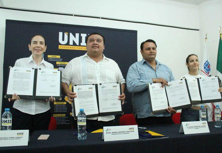 El acuerdo permitirá una mejor formación de los alumnos en derechos humanos. (Octavio Martínez/SIPSE)