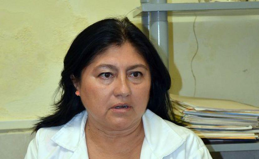 María Isabel Delgado Centeno, médico del Centro de Integración Juvenil. (Milenio Novedades)