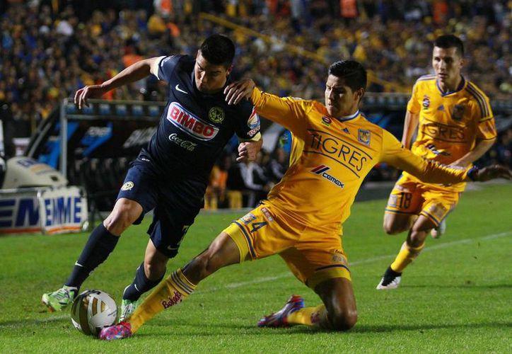 Con seis ganados y sólo dos perdidos, América es el quinto mejor local, pero Tigres terminó invicto como visitante. (Foto: Jam Media)