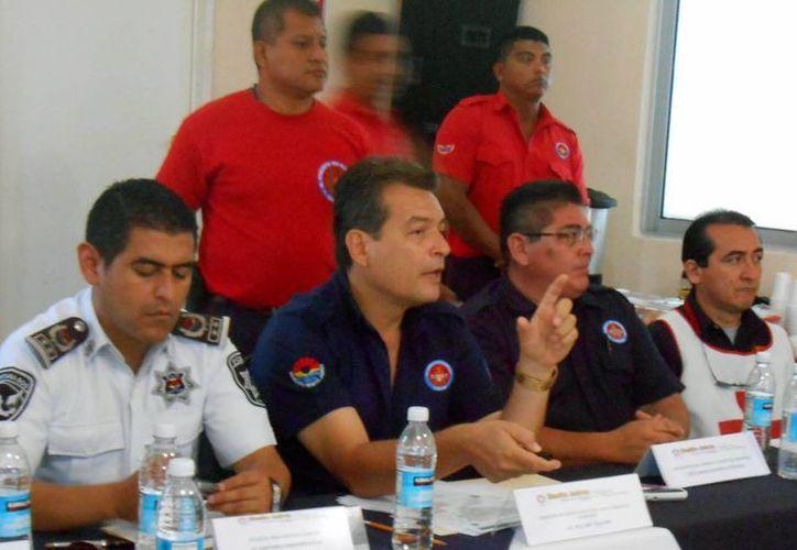 En la primera reunión del subcomité se trataron temas de interés para la seguridad de los benitojuarenses. (Cortesía/SIPSE)