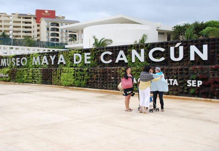 Museo Maya de Cancún; uno de los principales atractivos arqueológicos de la región. (SIPSE)