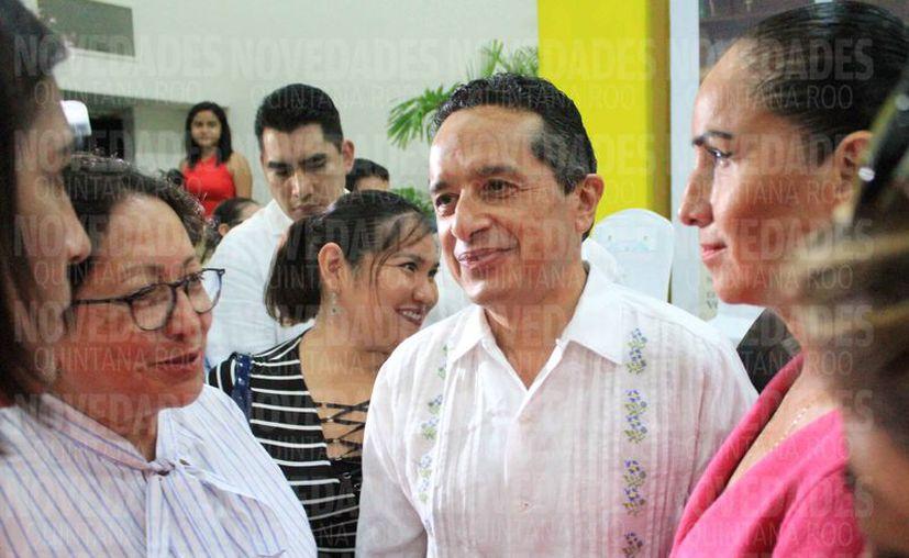 Carlos Joaquín González dijo que los trabajos de investigación de su gobierno continúan. (Luis Soto/SIPSE)