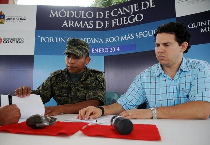 Continúa instalado un módulo en la calle Hidalgo con 70, en la colonia Inviqroo-Cuzamil. (Cortesía/SIPSE)