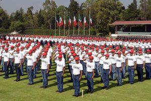 Conmemoración del 5 de Mayo y jura de Bandera del SMN en México