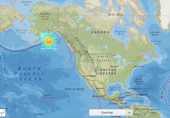 El Centro de Alerta de Tsunami también había lanzado la advertencia para la Columbia Británica en Canadá. (The Huffington Post)