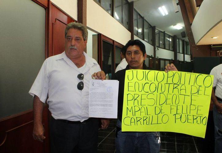 El laudo asciende a más de 15 millones de pesos.( Carlos Horta/ SIPSE)