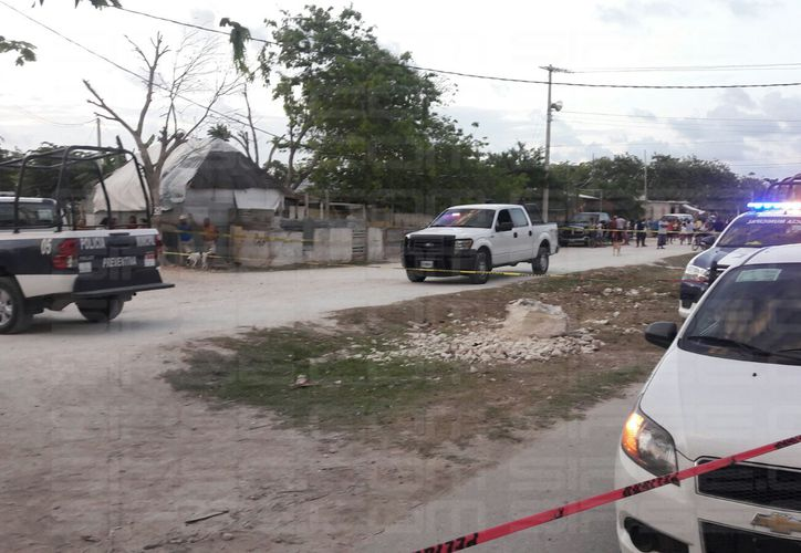 Una de las agraviadas fue trasladada al Hospital General de Cancún. (Foto: Redacción/SIPSE)