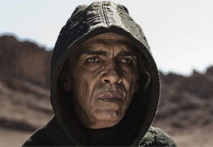 El actor Mohamed Mehdi Ouazzani, que interpreta al demonio tiene, al parecer, una 'semejanza' con el presidente Barack Obama. (Internet)