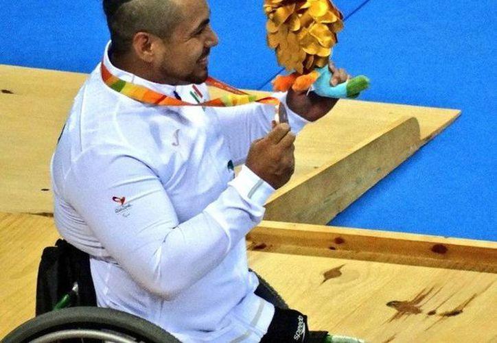 Este domingo, el mexicano Pedro Rangel consiguió la medalla de bronce en los Juegos Paralímpicos de Río 2016. (Facebook/ Conade)