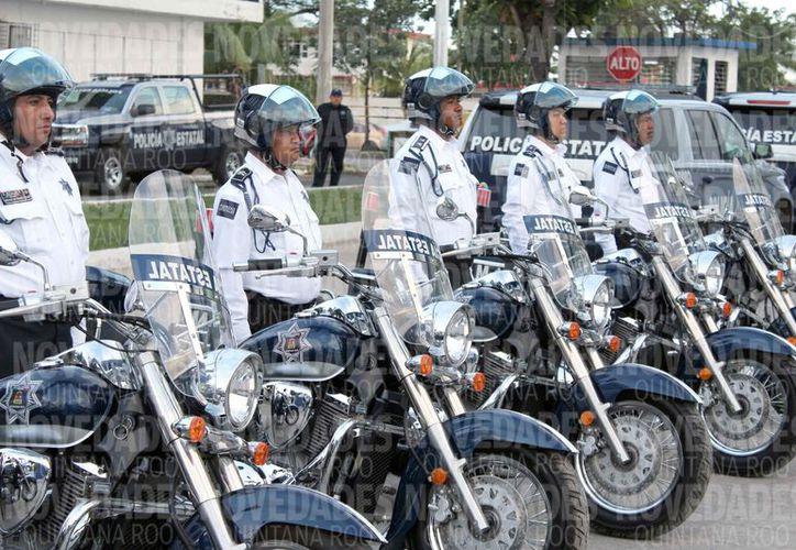 Aseguran compra de uniformes para los elementos de la Policía Estatal Preventiva. (Joel Zamora/SIPSE)