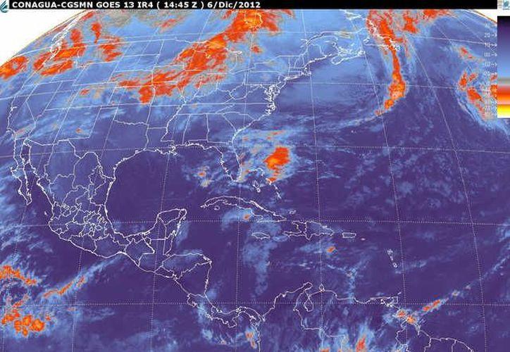 Soplarán vientos del este y noreste de 20 a 40 km/h. (smn.cna.gmb.mx)