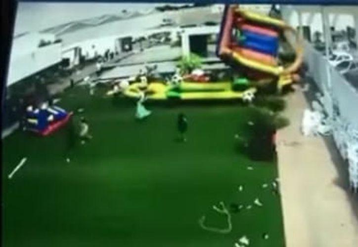 El suceso dejó a varios menores lesionados. (Foto: Captura de pantalla/Youtube)