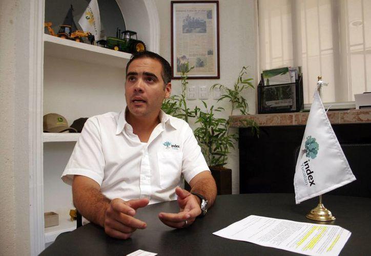 El representante del sector de maquiladoras en Yucatán, Gerardo Díaz de Zavala. (Milenio Novedades)