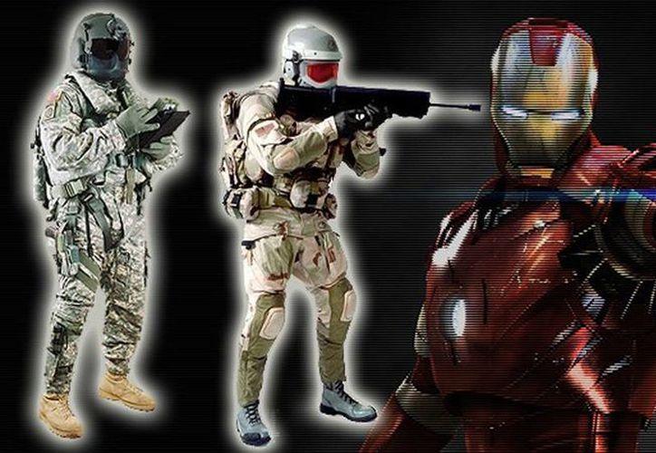 El traje proporcionaría habilidades sobrehumanas como visión nocturna, aumento de la fuerza y protección contra los disparos. (RT)
