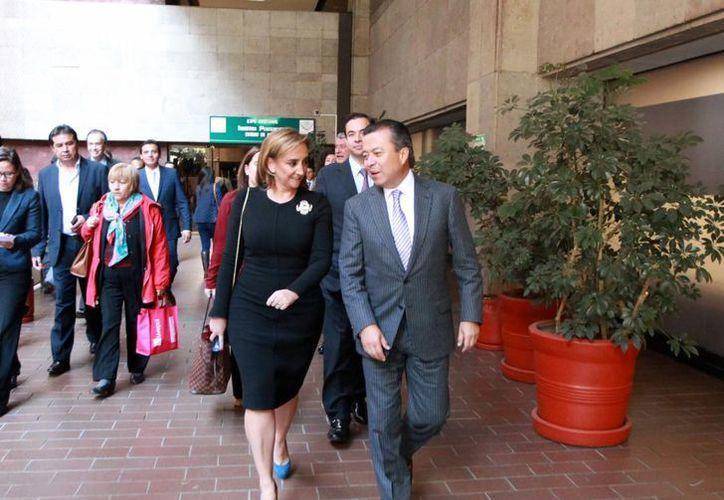 El CEN del PRI informó que Claudia Ruiz Massieu es la nueva Secretaria General del Revolucionario Institucional. (Archivo/Notimex)