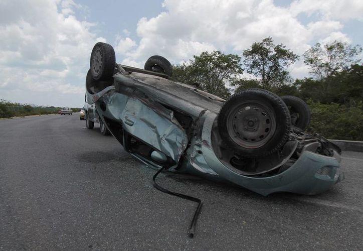 Tratan de reducir un 50% los accidentes viales. (Israel Leal/SIPSE)